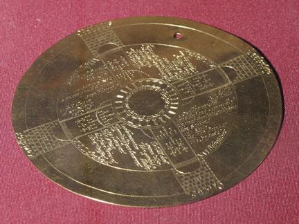 John Dee's Golden Talisman