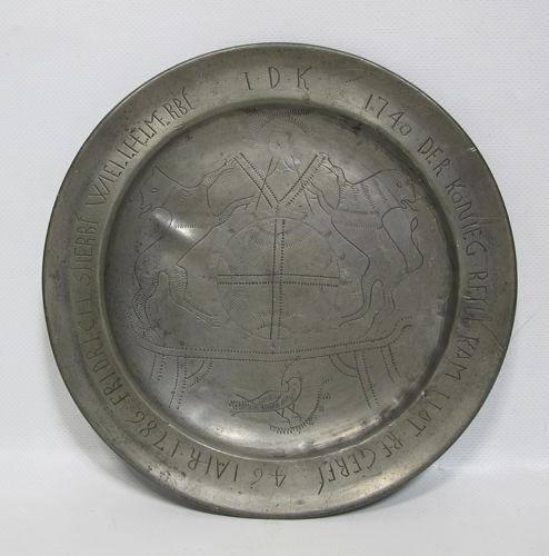 Battle of Trenton Hessian Plate