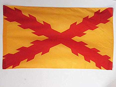 Spanish Flag from the Battle of Rocroi