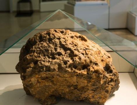 Chunk of the Chelyabinsk Meteor