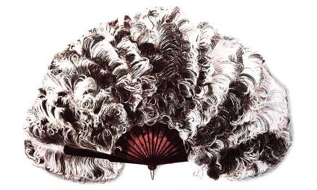 Florence Foster Jenkins' Feather Fan