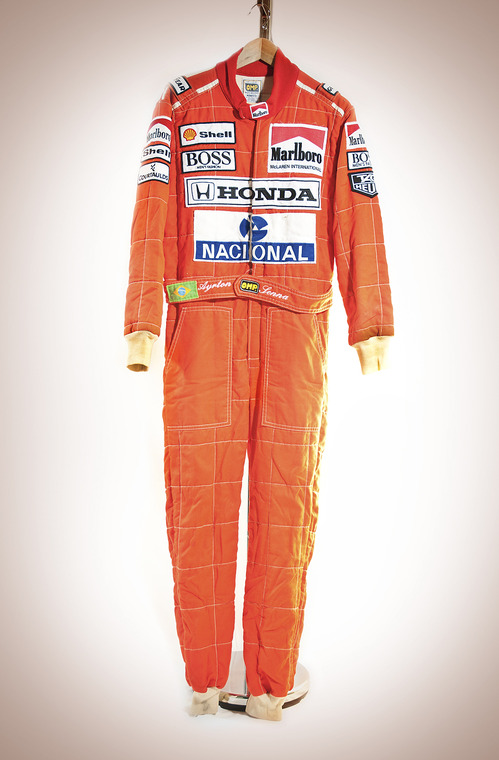 Ayrton Senna's Race Suit