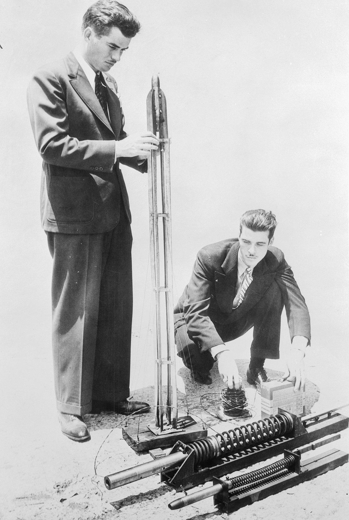 Jack Parson's Rocket Engine