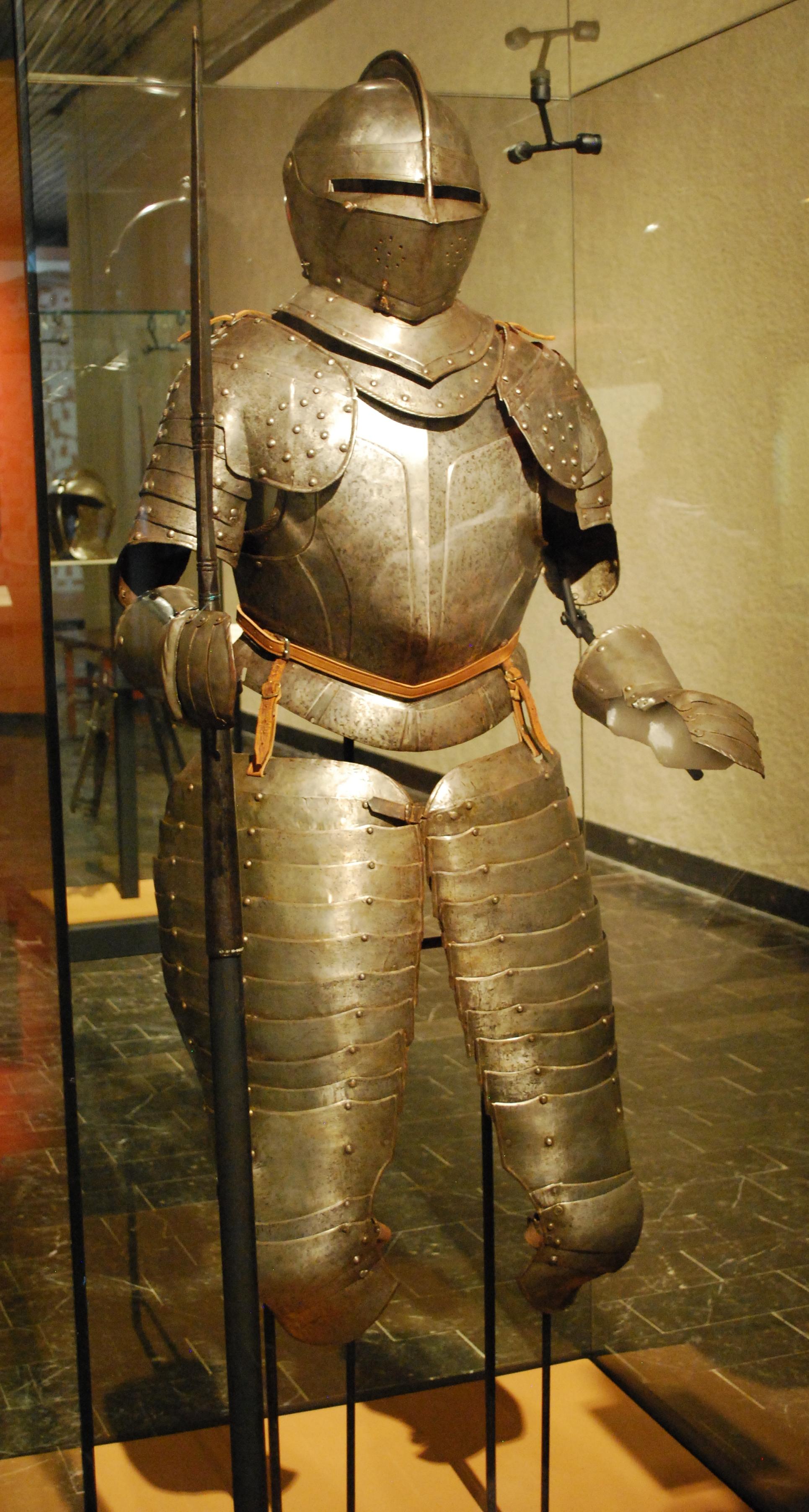 Amerigo Vespucci's Armor Plate