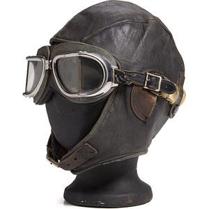 Bert Acosta's Aviator Goggles and Cap