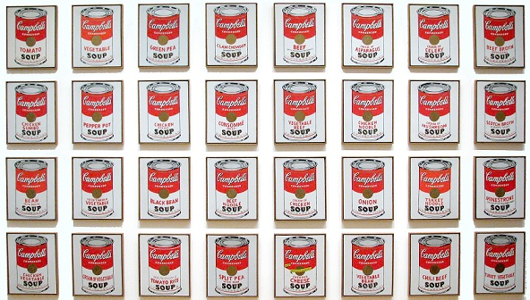"""Andy Warhol's """"Campbell's Soup Cans"""""""