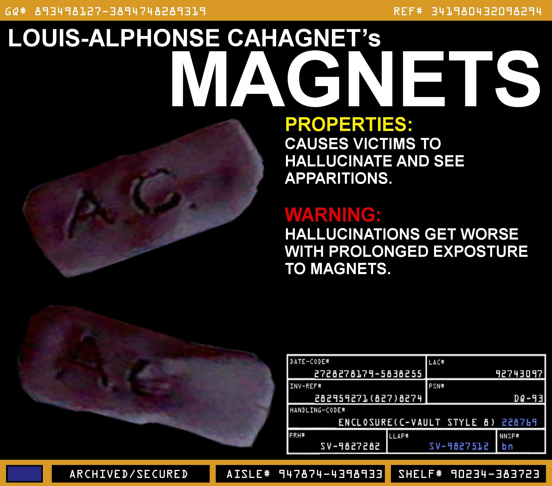 Alphonse Cahagnet's Magnets