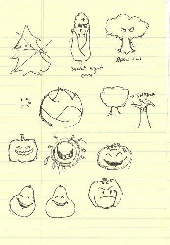 George Fan's Sketchbook