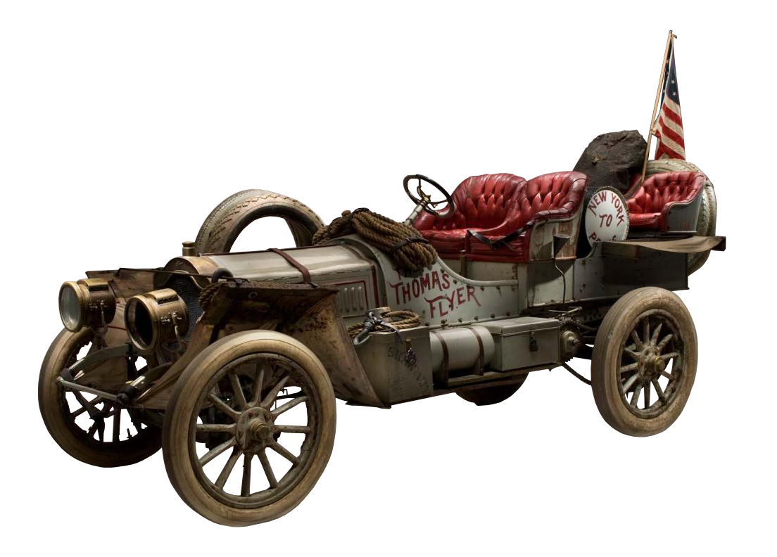 1907 Thomas Flyer from the 1908 New York to Paris Race