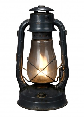 Calvin Coolidge's Kerosene Lamp