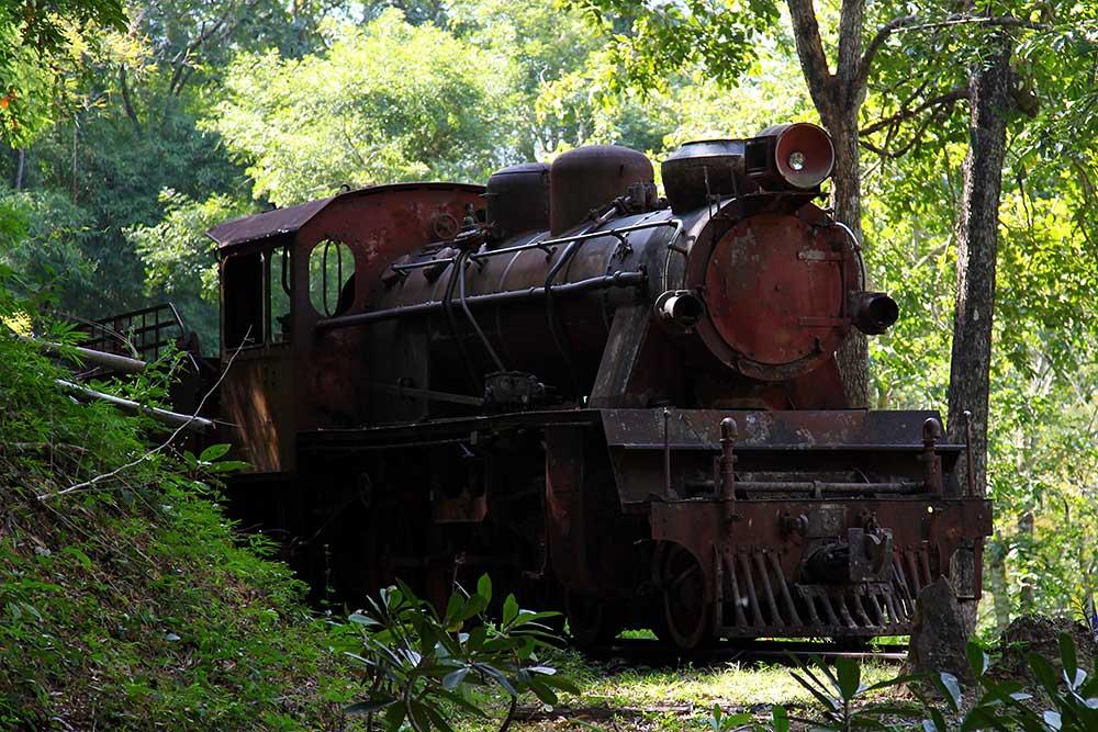 Steam Locomotive from the Burma Railway