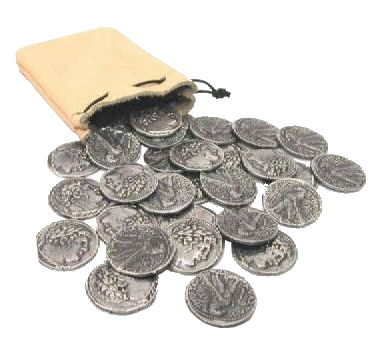 Judas Iscariot's Thirty Silver Coins