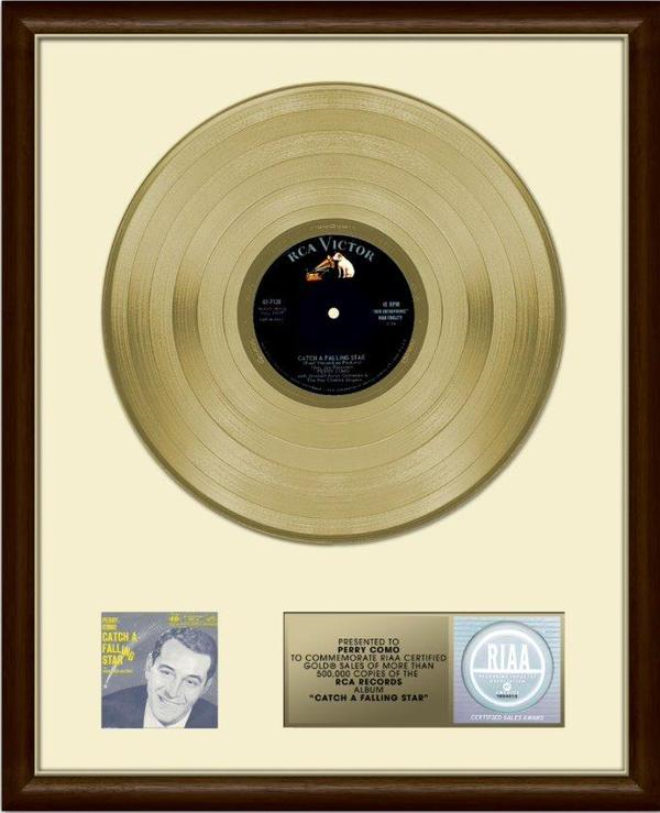 Perry Como's Gold Record