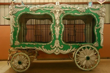 Carl Hagenbeck's Circus Wagon