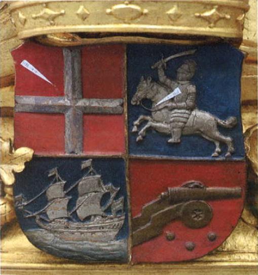 Michiel de Ruyter's Crest