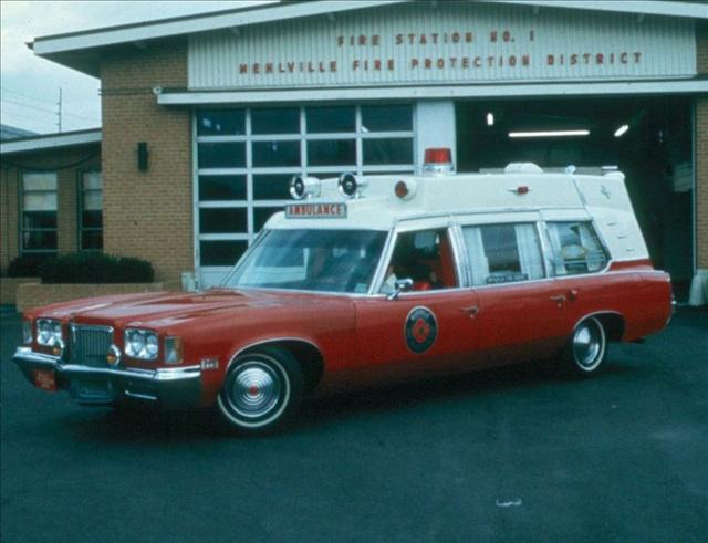 1965 Pontiac Ambulance Emergency Lights