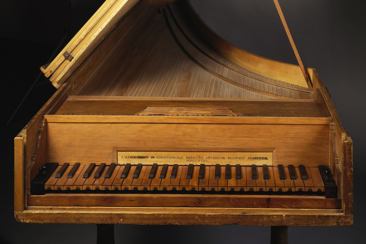 Cristofori's Piano Keyboard