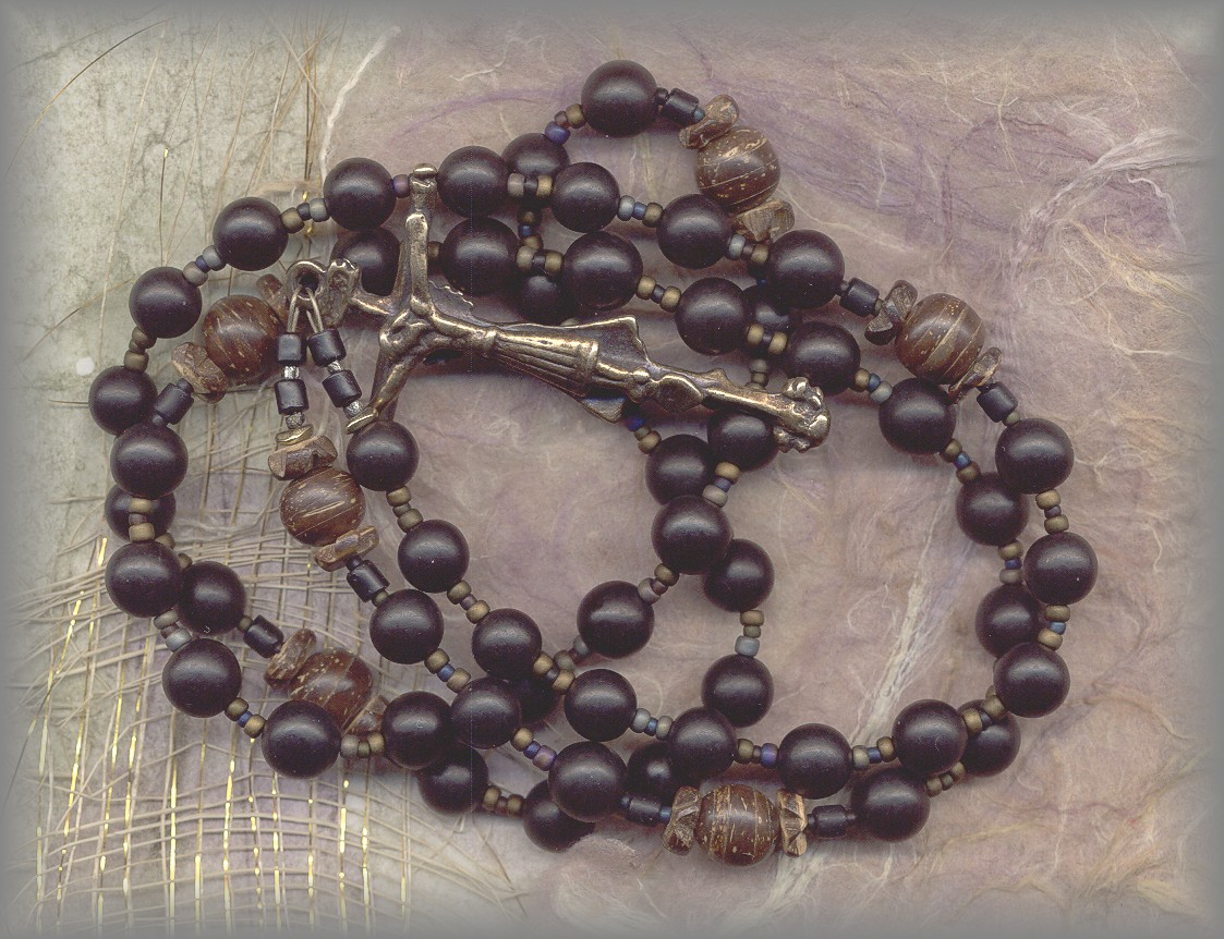 Mary of Jesus of Ágreda's Rosary Necklace