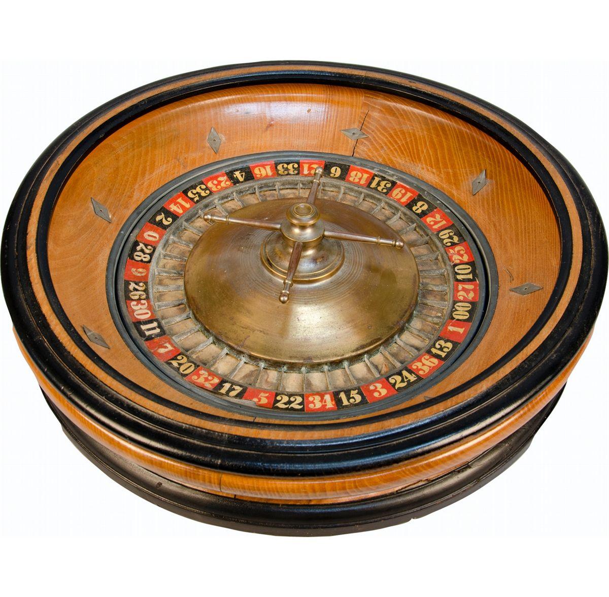 Charles Wells' Roulette Wheel