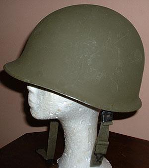 Alfred N. Stevenson's Military Helmet