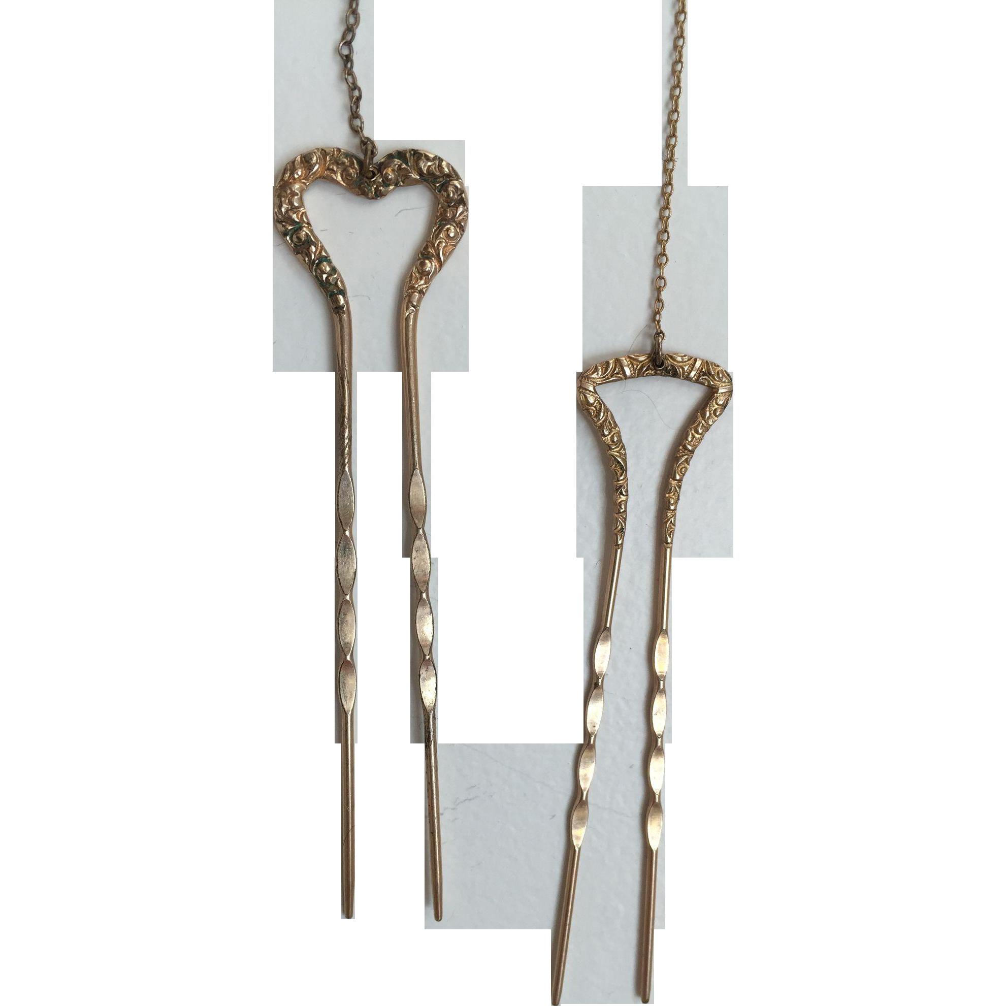 Marian Anderson's Hair Pins