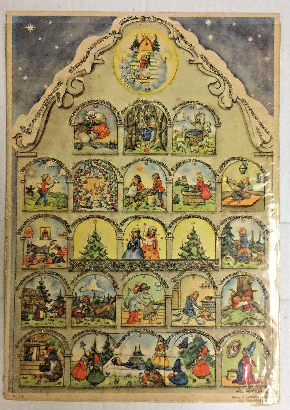 Victorian Advent Calendar