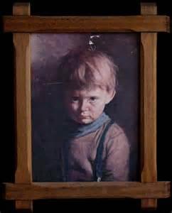 "Giovanni Bragolin's Original ""Crying Boy"" and ""Crying Girl"""