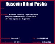 Huseyin hilmi pasha