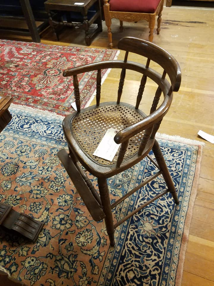 Margaret Waters' High Chair