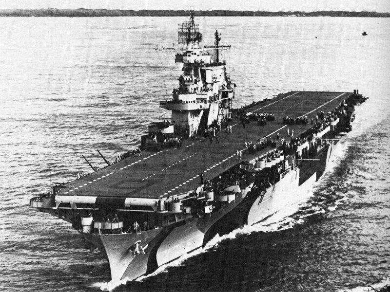 USS Enterprise WWII Aircraft Carrier