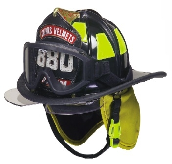Fireman's Helmet from Chicago, South Side Fire