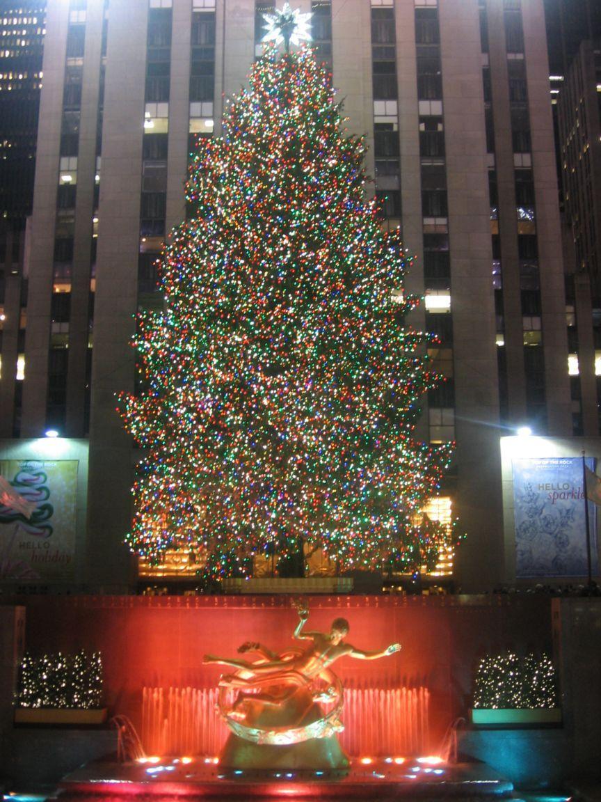 Tree from the Rockefeller Center
