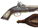 Guy Fawkes' Gunpowder and Gun