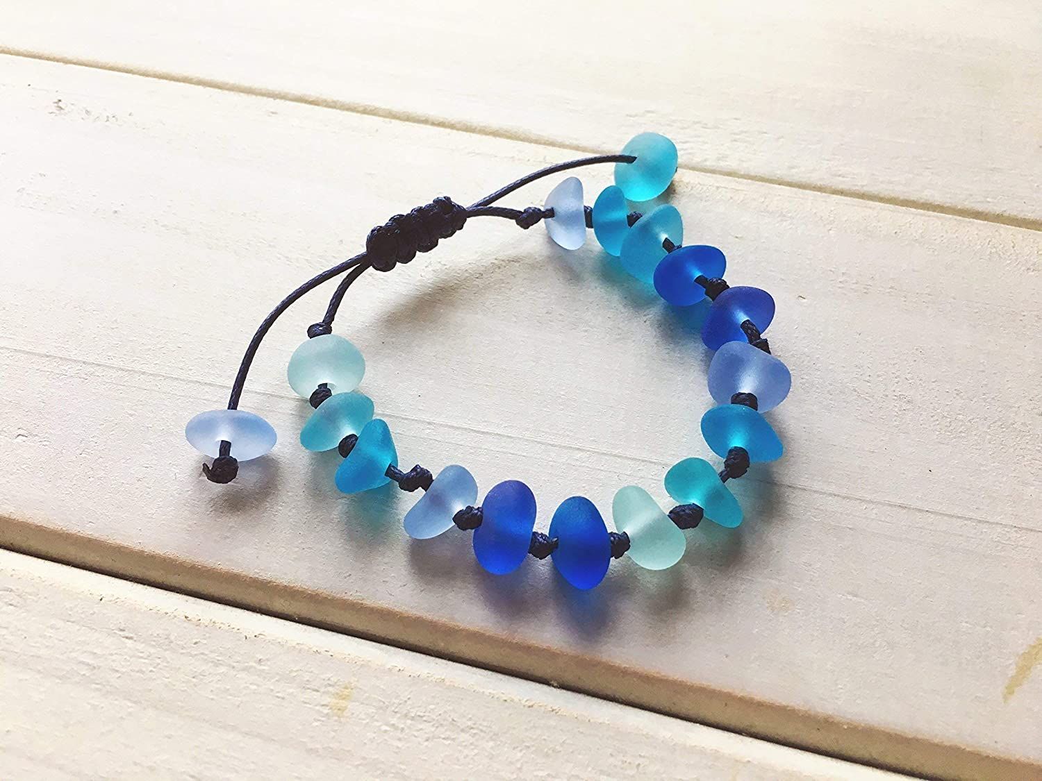 Garrett Graham's Sea Glass Bracelet