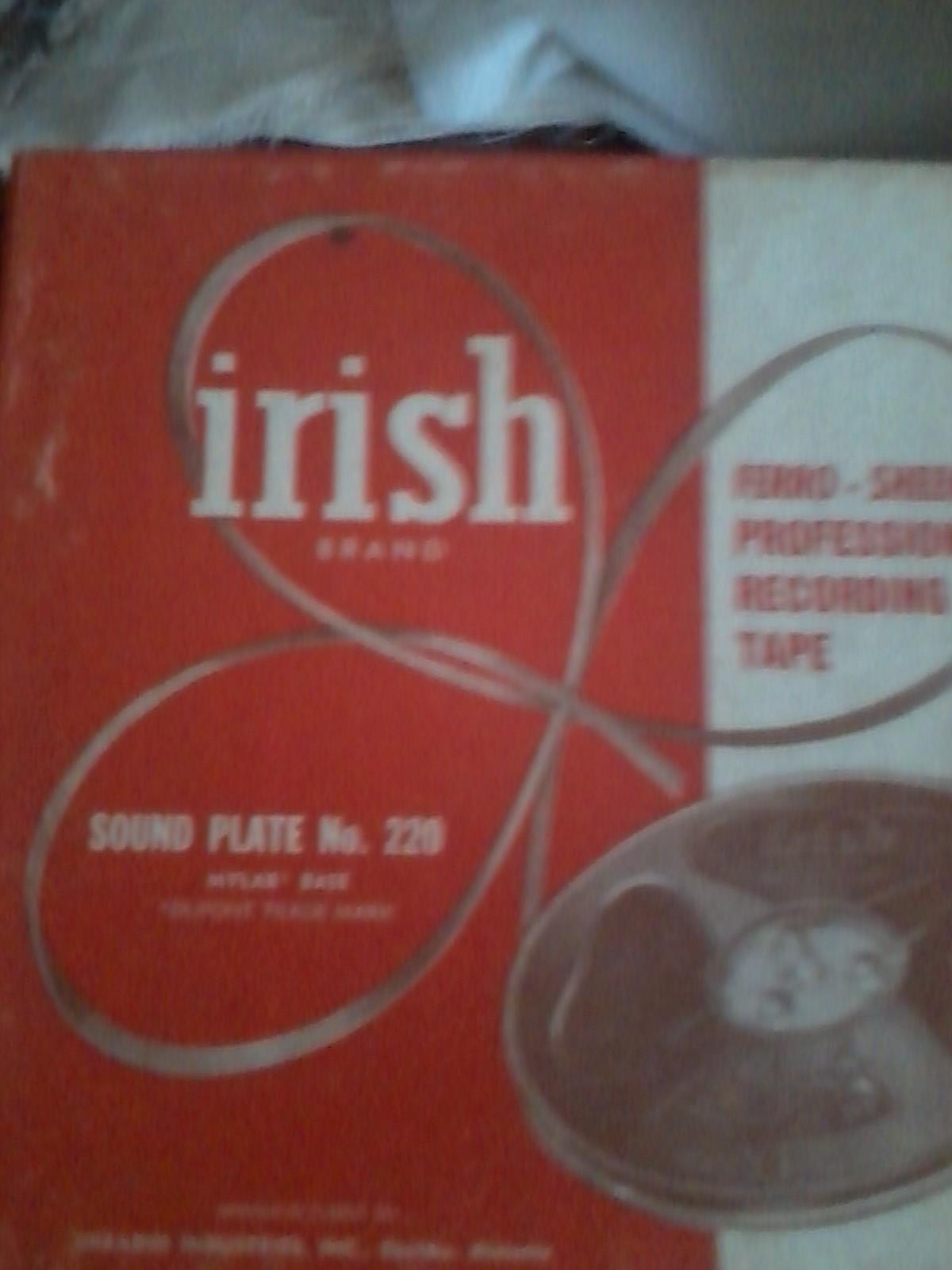 Irish Brand Sound Plate
