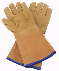 Metal Bending Blacksmith Gloves