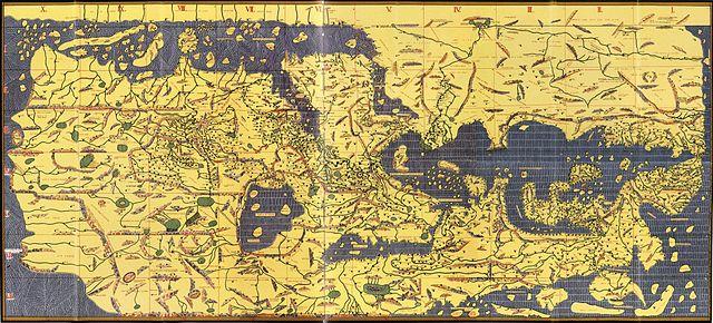 """Muhammad al-Idrisi's """"The Tabula Rogeriana"""""""