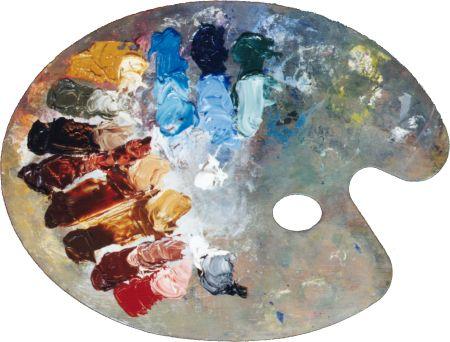 Emanuel Leutze's Palette