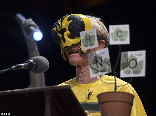 Justin O. Schmidt's Wasp Mask