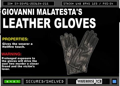 Giovanni Malatesta's Gloves