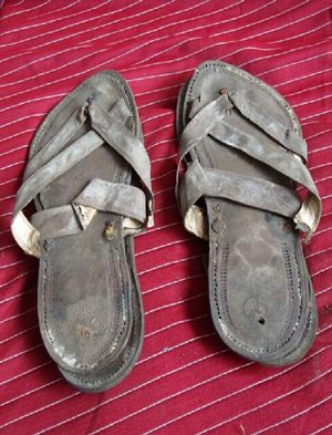 Mohandas Gandhi's Sandals