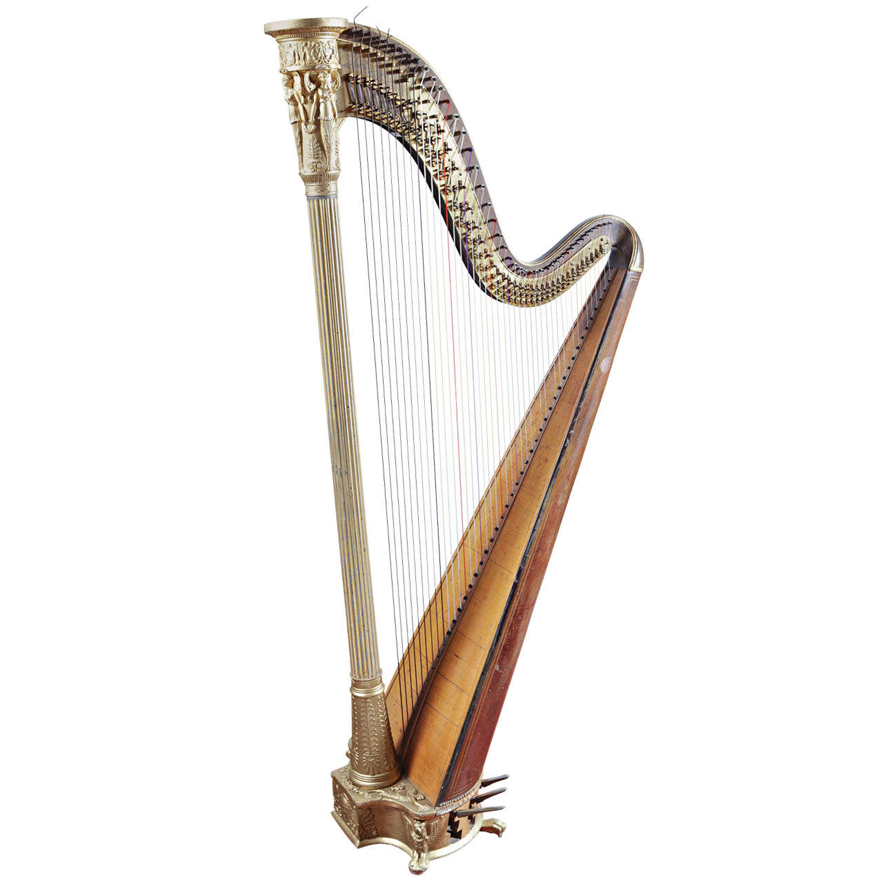 David Edward Hughes' Harp