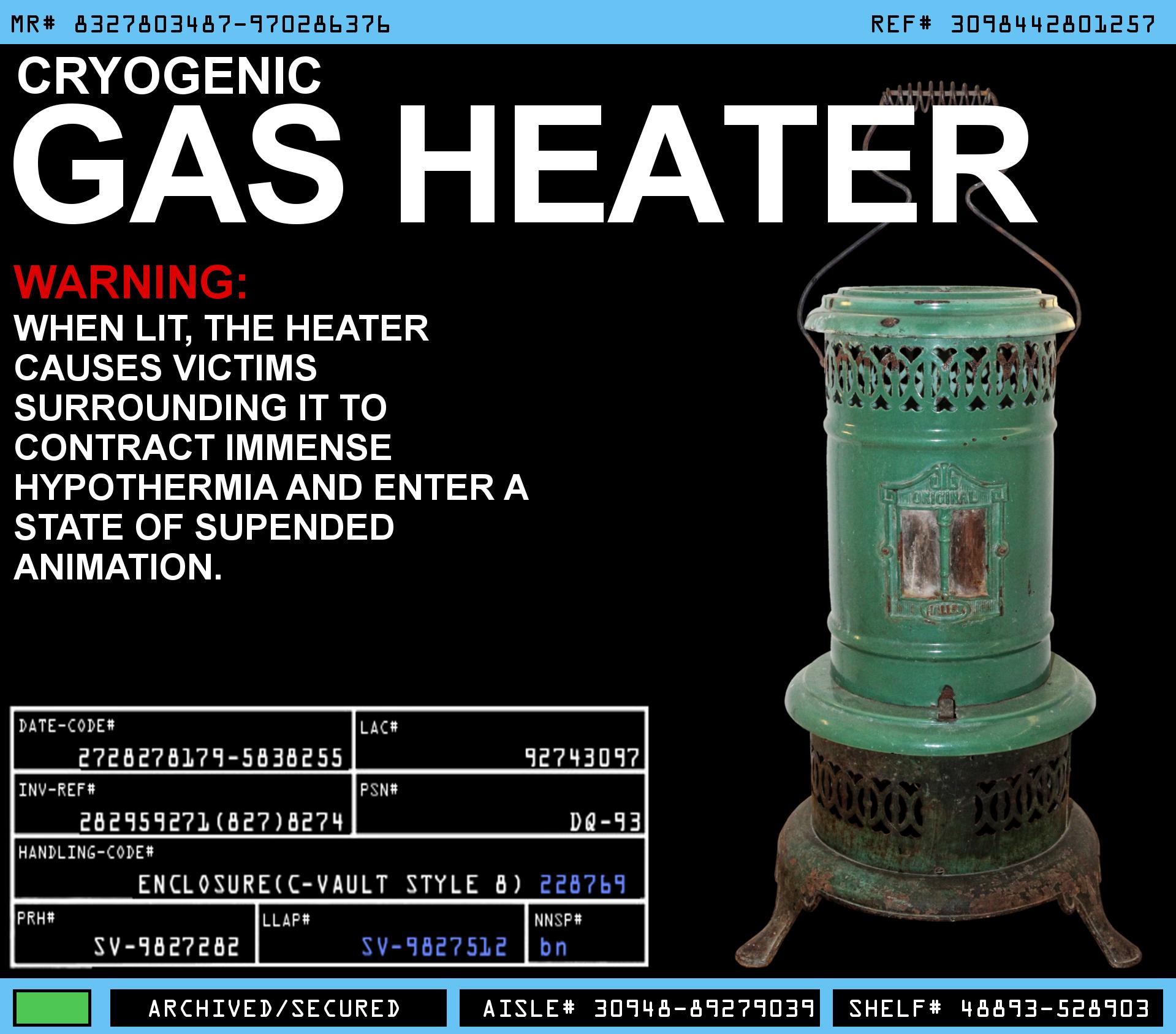 Cryogenic Gas Heater