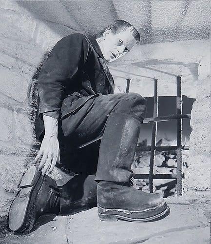 Boris Karloff's Frankenstein Costume