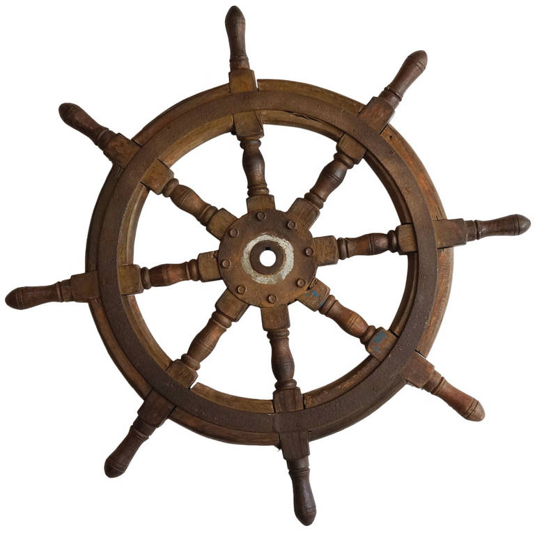Baychimo Ship's Wheel