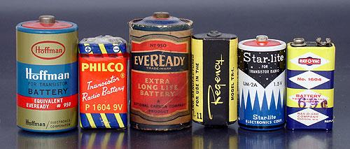 Samuel Ruben's Batteries