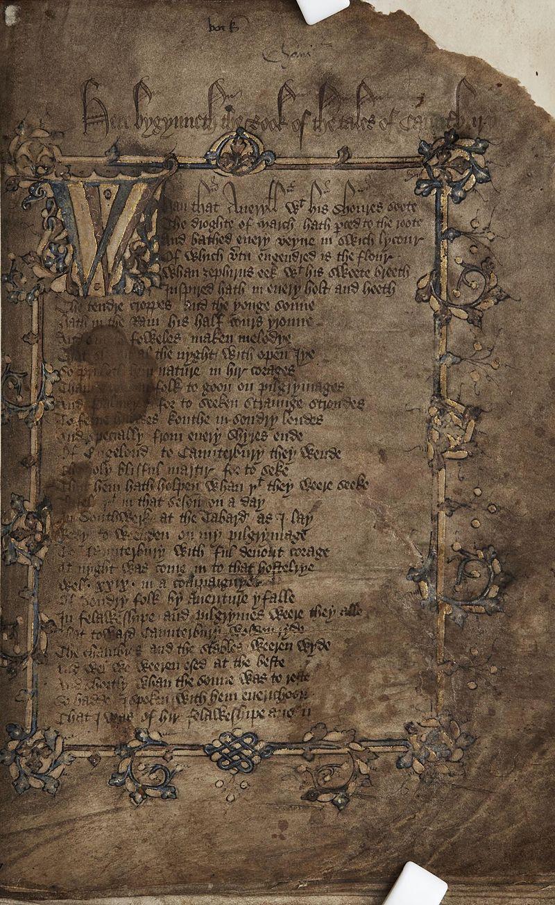 Geoffrey Chaucer's First Poems