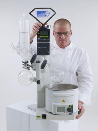 Heston Blumenthal's Chemistry Equipment
