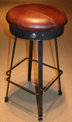 Barstool from the Cedar Tavern