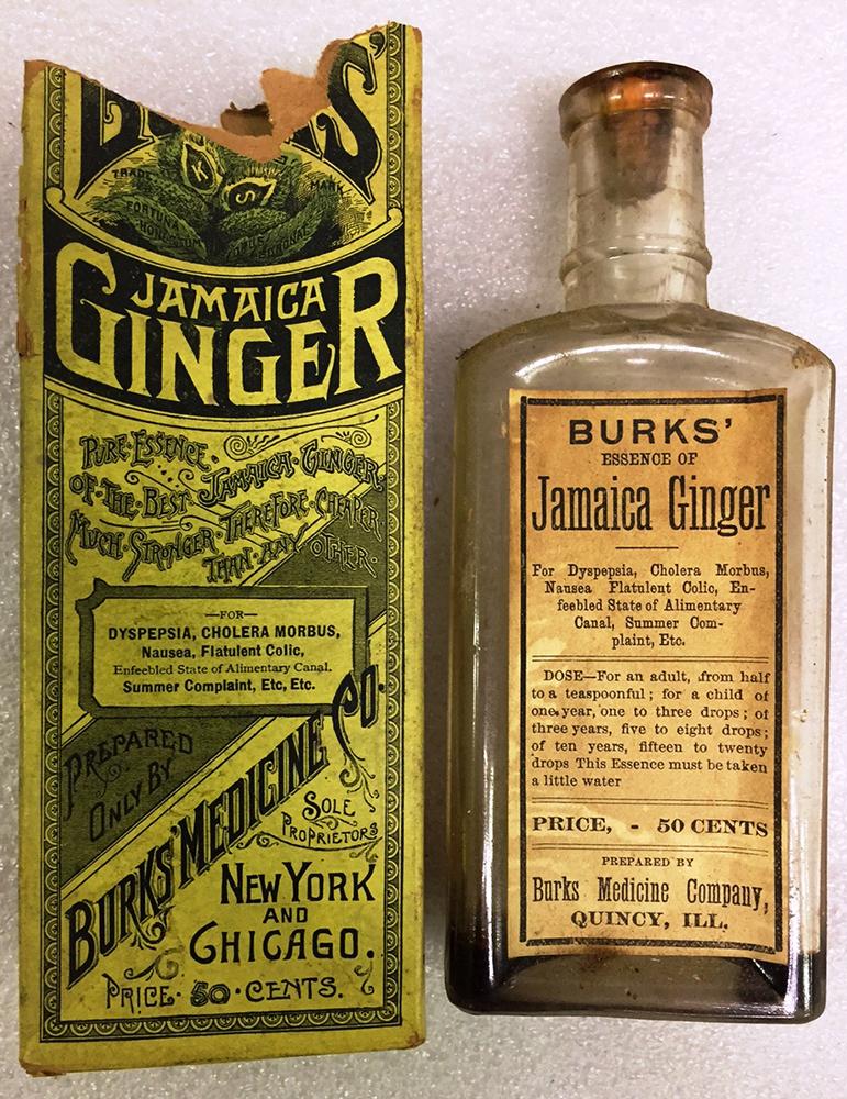 Jamaica Ginger Bottle